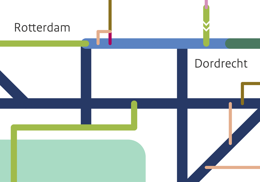 Rijkswaterstaat, vaarwegenkaart, Studio Enkelvoud
