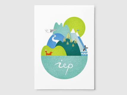 Geboortekaartje Iep, Studio Enkelvoud, 2015