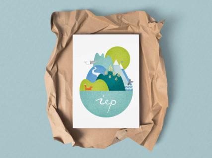 iep, geboortekaartje, kaartje, ontwerp, baby, newborn, wereld, wereldje, persoonlijk