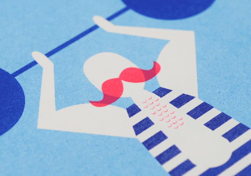 Studio Enkelvoud, Risoprint gewichtheffer