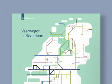 Rijkswaterstaat, vaarwegenkaart, Studio-Enkelvoud