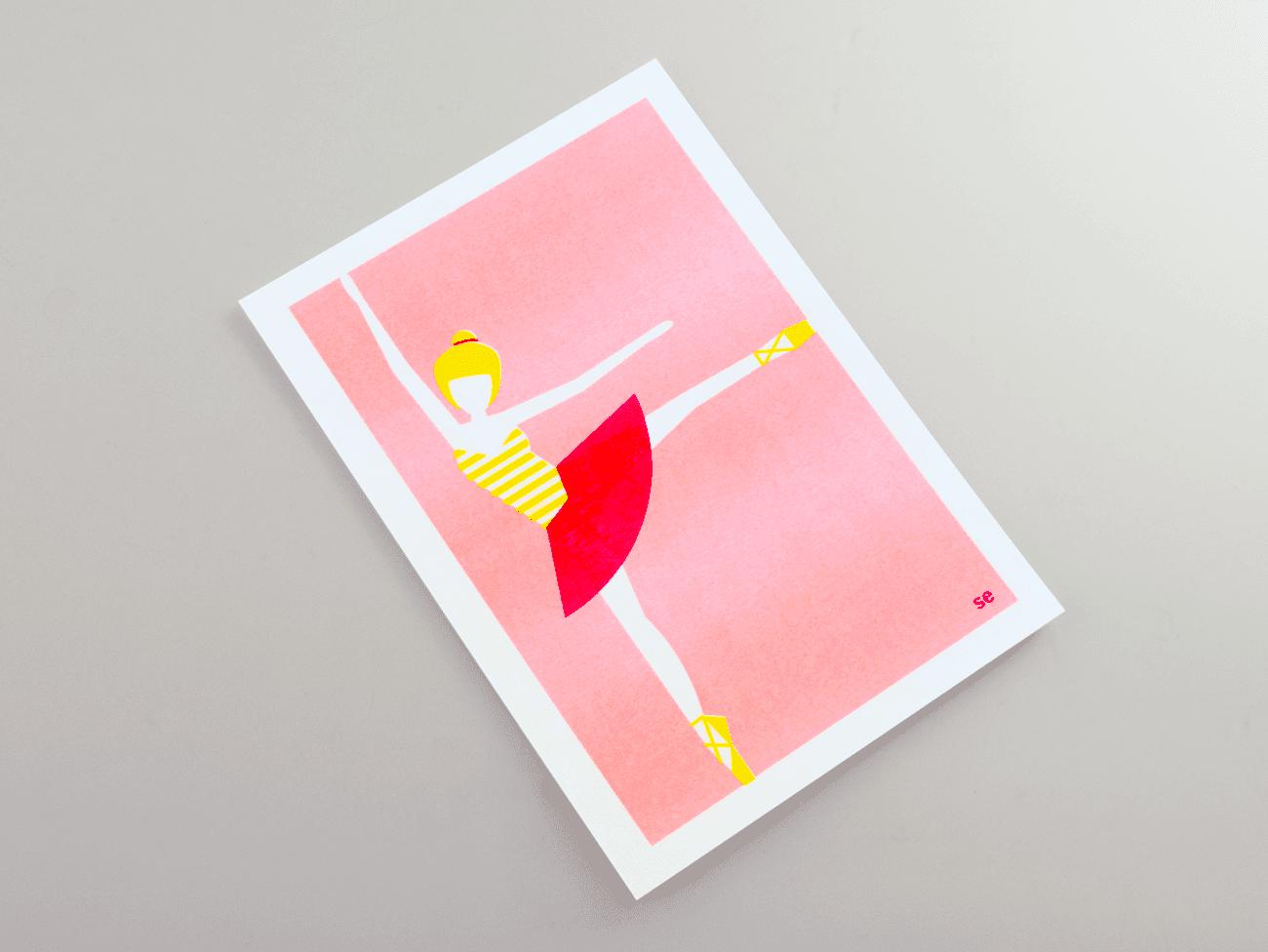 Studio Enkelvoud, Risoprint, ballerina