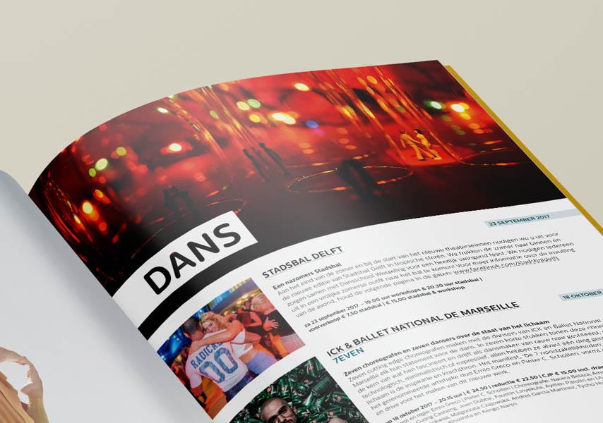 Theater de Veste, Seizoen 17|18, Studio Enkelvoud, seizoensbrochure, toneel, campagnebeeld, grafisch ontwerp, fotografie, miniatuur, miniature, editorial, grafisch ontwerp, lay-out, brochure, dans