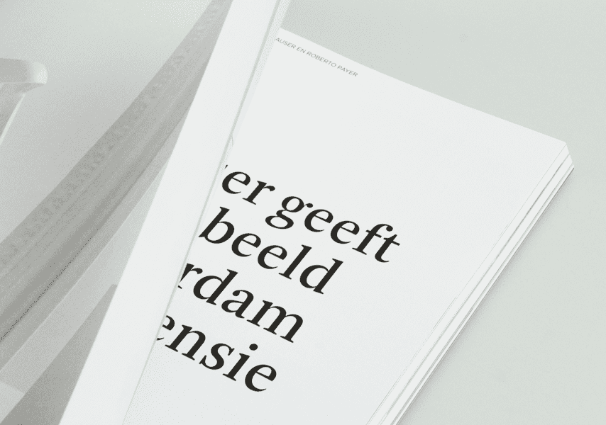 PAN Amsterdam, 2017, Catalogus, Magazine, Grafisch ontwerp, Graphic design, Magazine, Catalogus, Koen Hauser, Campagnebeeld, Grijs, Wit, Objecten, Fotografie, Photography, Koen Hauser