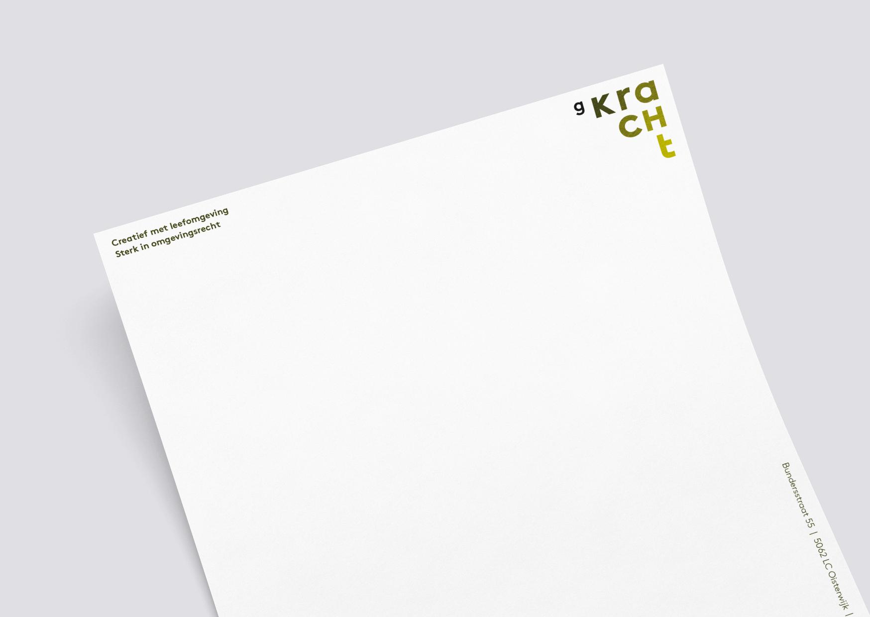 Buro Gkracht, omgevingswet, gemeente, logo, ruimtelijke ordening, grafisch ontwerp, groen, omgeving, identiteit, architectuur, gkracht, briefpapier, letter