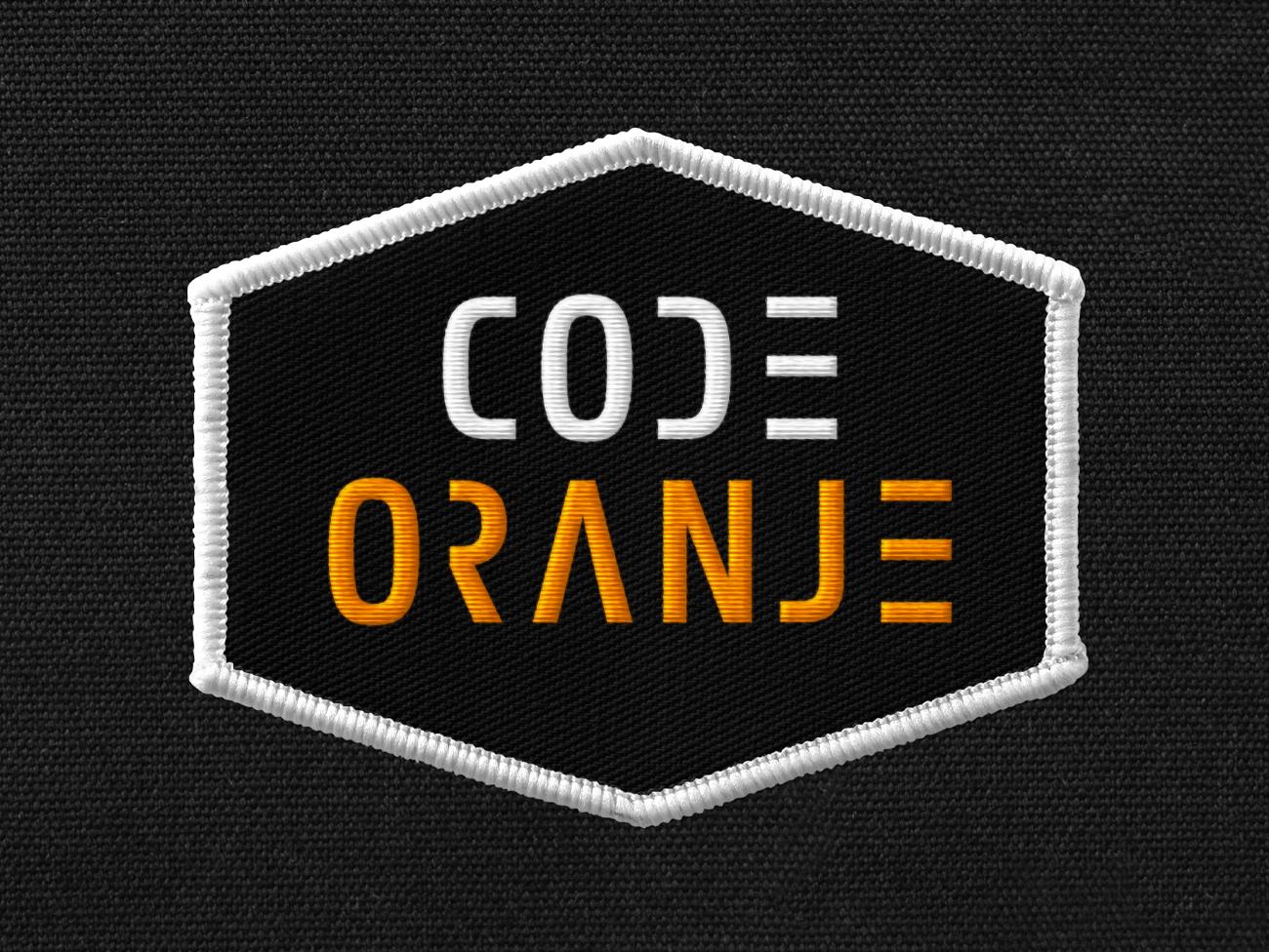 code oranje, code, oranje, voetbal, logo, identiteit, huisstijl, ontwerp, grafisch, grafisch ontwerp, graphic design, identity, football, nederland