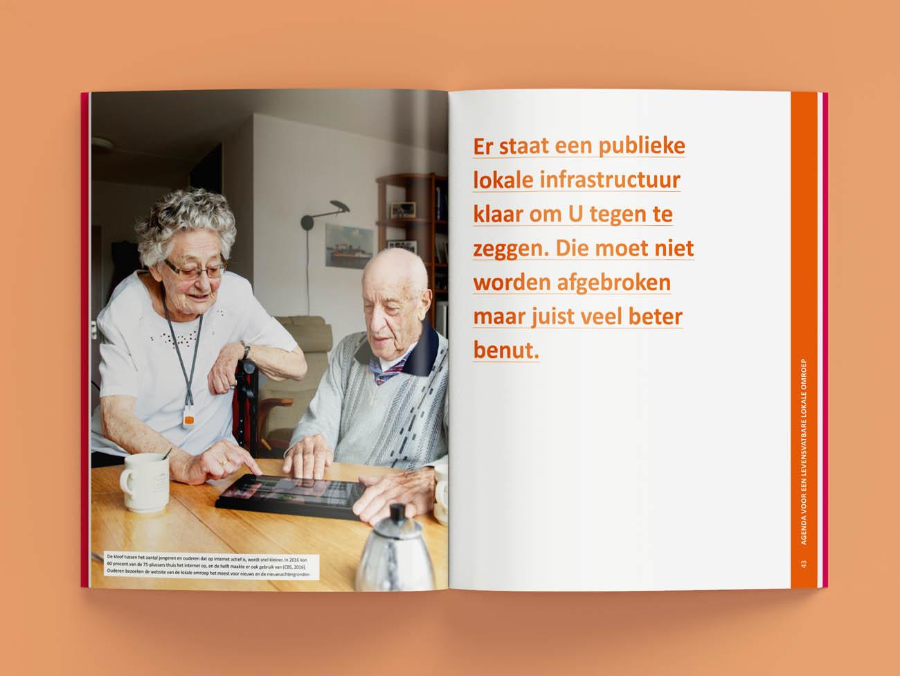 NLPO, nederlandse, lokale, publieke, omroep, drukwerk, grafisch ontwerp, boekontwerp, publicatie, magenta
