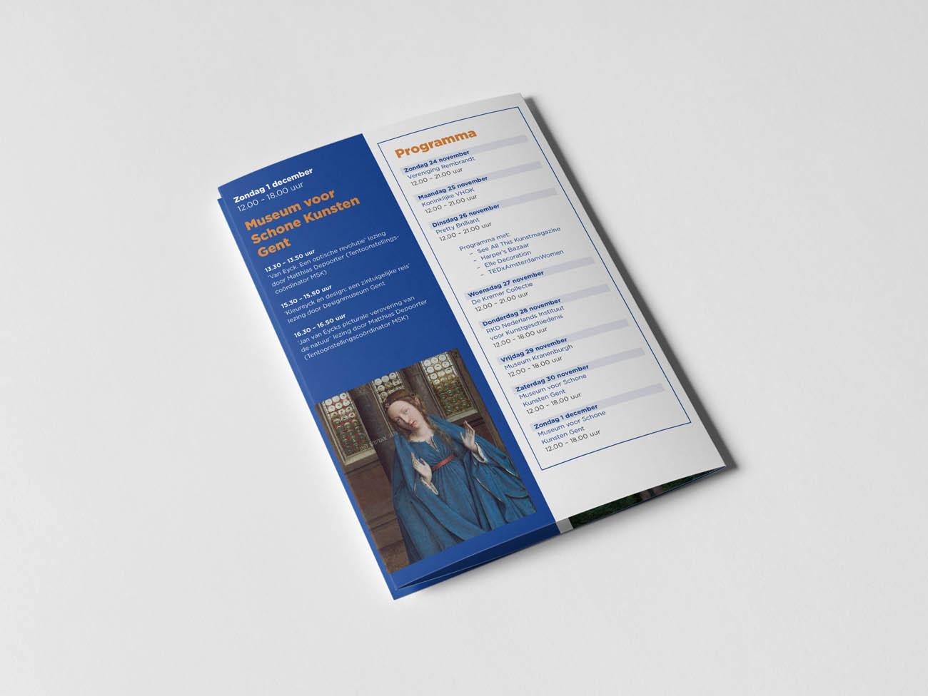 PAN Amsterdam, Amsterdam, 2019, jan taminiau, beurs, kunst, art, fair, antiek, design, grafisch, ontwerp, grafisch ontwerp, graphic design, campagne, erwin olaf, fotografie, folder, pan podium, podium, flyer, editoriaal, erwin olaf, plattegrond, plattegrondbord, folder, bord, signing, beurs, tas